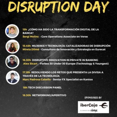UPF DISRUPTION DAY